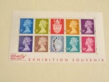 Engeland  machins exhibition souvenir   2000 MNH-postfris  75 % face value