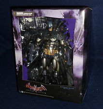 "Arkham Asylum BATMAN ARMORED Play Arts Kai 9"" Action Figure Square City Knight"