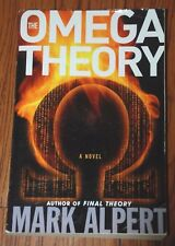 """SIGNED """"THe Omega Theory"""" by Mark Alpert Advance Reading Copy 1st Edition B2"""
