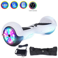 "6.5"" Hoverboard Electric Self Balancing  LED Lights Scooter- UL2272 Certified US"