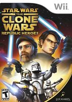 Star Wars: The Clone Wars - Republic Heroes - Nintendo  Wii Game