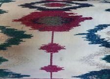 John Lewis IKAT Multi Colour Embroidered Fabric