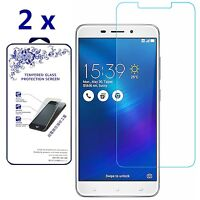 [2-Pack] For Asus ZenFone 3 Laser ZC551KL [Tempered Glass] Screen Protector 9H