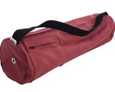 "Bean Products Round Hemp Red Yoga Bag Extra Large 32"" X 8"""