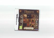 ROOMS : THE MAIN BUILDING - DS GAME / LITE DSi 3DS COMPATIBLE - COMPLETE - VGC