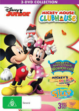 Mickey Mouse Clubhouse (Mickey's Adventures in Wonderland / - DVD (NEW & SEALED)