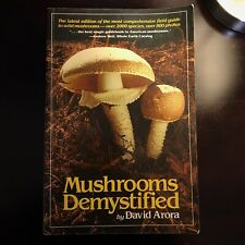 Mushrooms Demystified by David Arora (1986, Trade Paperback)