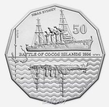 **2014 Australian Sydney/Emden Engagement 50cent coin UNC **