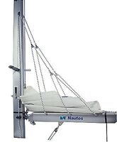 NAUTOS-LAZY JACK C - LARGE SIZE- COMPLETE SET OF BLOCKS , CLEATS AND ROPE