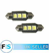 2x36mm CANBUS ERROR FREE CAR LED W5W 501 NUMBER PLATE/INTERIOR LIGHT BULBS-MRC1