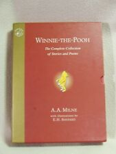Winnie-The-Pooh: The Complete Collection of Stories and Poems. A.A.Milne. Cased.