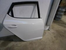 2015 Seat Ibiza 5dr 1.4 16v Drivers Offside Rear Door (WHITE - LB9A)