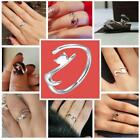 Special Cute Lovely Design Plated 925 Sterling Silver Long Cat Tail Opening Ring