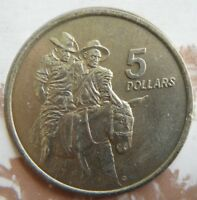 1990 Australia $5 UNC Coin The ANZAC 75th Anniversary Simpson and his Donkey