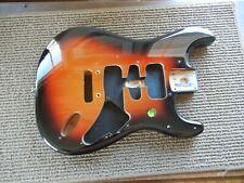 Genuine Fender Player HSH Stratocaster Strat Body 3 Tone Sunburst Great Shape!