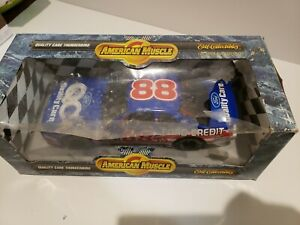 Ertl American Muscle Dale Jarrett #88 Ford Credit New with some damage to  box