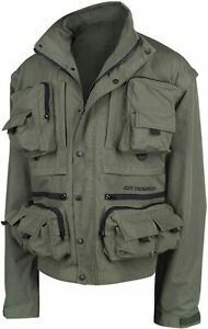 Ron Thompson Ontario Jacket Windproof Water Resistant Fishing Clothing