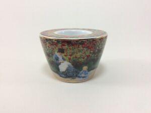 GOEBEL Artis Orbis CLAUDE MONET Teelichthalter Porzellan 9 cm