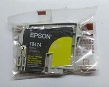 Original epson t0424 jaune yellow Stylus c70 plus c80 c82 cx5200 cx5400