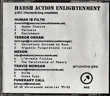 HARSH ACTION ENLIGHTMENT CD OOP Terror Organ INDUSTRIAL