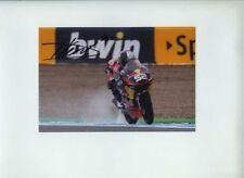 Danny Kent Red Bull KTM AJO MOTO 3 Gran Premio di Spagna 2012 firmato Fotografia