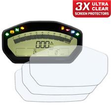 3 X DUCATI Supersport 17+ instrumento/dashboard/Speedo UC protector de pantalla
