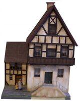 77505 Fachwerkhaus 2stöckig mit Balkon und Anbau, Spur G (LGB), GMK World