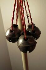Vintage, 3 Sleigh Bells, Double Throated Size 1