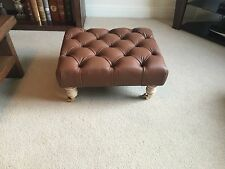 Handmade Leather Footstools