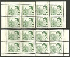 Canada QEII Centennial issue matched set 455p WCB DEX shiny gum MNH** CV $12.00