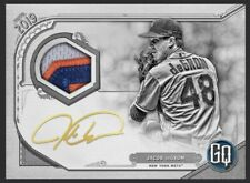 Topps Bunt JACOB deGROM Gypsy Queen Black & White Signature Relic 5cc *DIGITAL*
