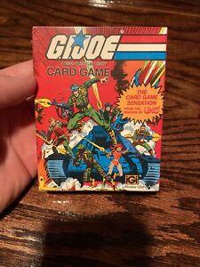 Vintage 1982 Hasbro G.I. Joe Card Game in Original Box by UNO new NIP NIB Sealed