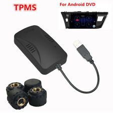 Newest TPMS Car Tire Pressure Alarm System With 4 Sensors For Android DVD Player
