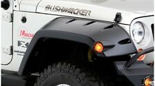 BUSHWACKER MAX COVERAGE FENDER FLARES 07-17 JEEP WRANGLER JK UNLIMITED FRONT SET