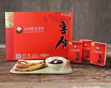 100% 6Years Korean Red Ginseng Gold Root Honeyed Sliced Panax (20g x 10ea) 200g