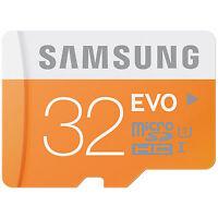 Samsung EVO Transflash Micro SD 32GB Class 10 SDHC Memory Card 32 GB 32G MicroSD