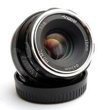 *RARE* Fuji Fujifilm X mount ANDOER 35mm F/1.6 Manual Lens MINT