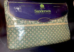 Vintage Sanderson Forest Glade Cal King Sheet Set New 1995 Martex Cotton