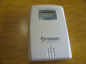 Used Oregon Scientific THN122N Wireless Temperature Sensor