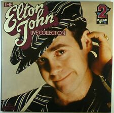 "2x 12"" LP - Elton John - The Elton John 'Live' Collection - E1486 - cleaned"