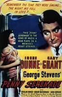 PENNY SERENADE Movie POSTER 27x40 B Irene Dunne Cary Grant Beulah Bondi Edgar
