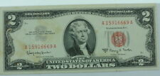 1963 A U.S. Two Dollar $2 Red Seal Paper Currency P256135