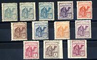 Sellos Sahara 1924 nº 1/12 Dromedario e Indigena nuevos colonias España