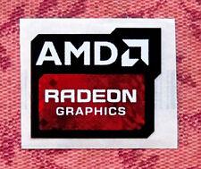 AMD Radeon Graphics Sticker 16.5 x 19.5mm Case Badge New Version USA Seller