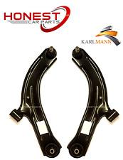 Per NISSAN MICRA K12 2002-2011 anteriore inferiore sospensione WISHBONES armi solo x2 Nuovo