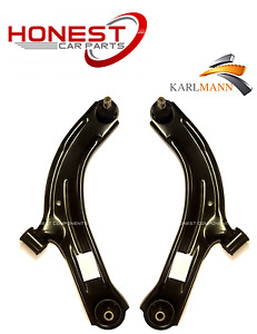 For NISSAN TIIDA 2004-2012 FRONT LOWER SUSPENSION WISHBONES ARMS ONLY X2 NEW