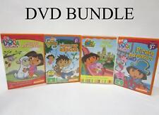 DVD Bundle x4 - Dora The Explorer and Go Diego Go Movies - RRP$40