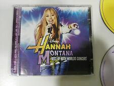 HANNAH MONTANA BEST OF BOTH WORLDS CONCERT CD + DVD DISNEY CHANNEL EU EDITION