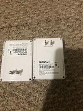 lot of 2 TRENDnet TPL-401E( Powerline 500 AV Adapter Kit)