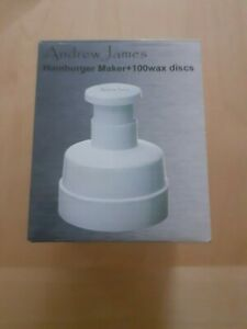 Andrew James Hamburger Maker in Excellent Condition. Pre-owned Used Once. Useful